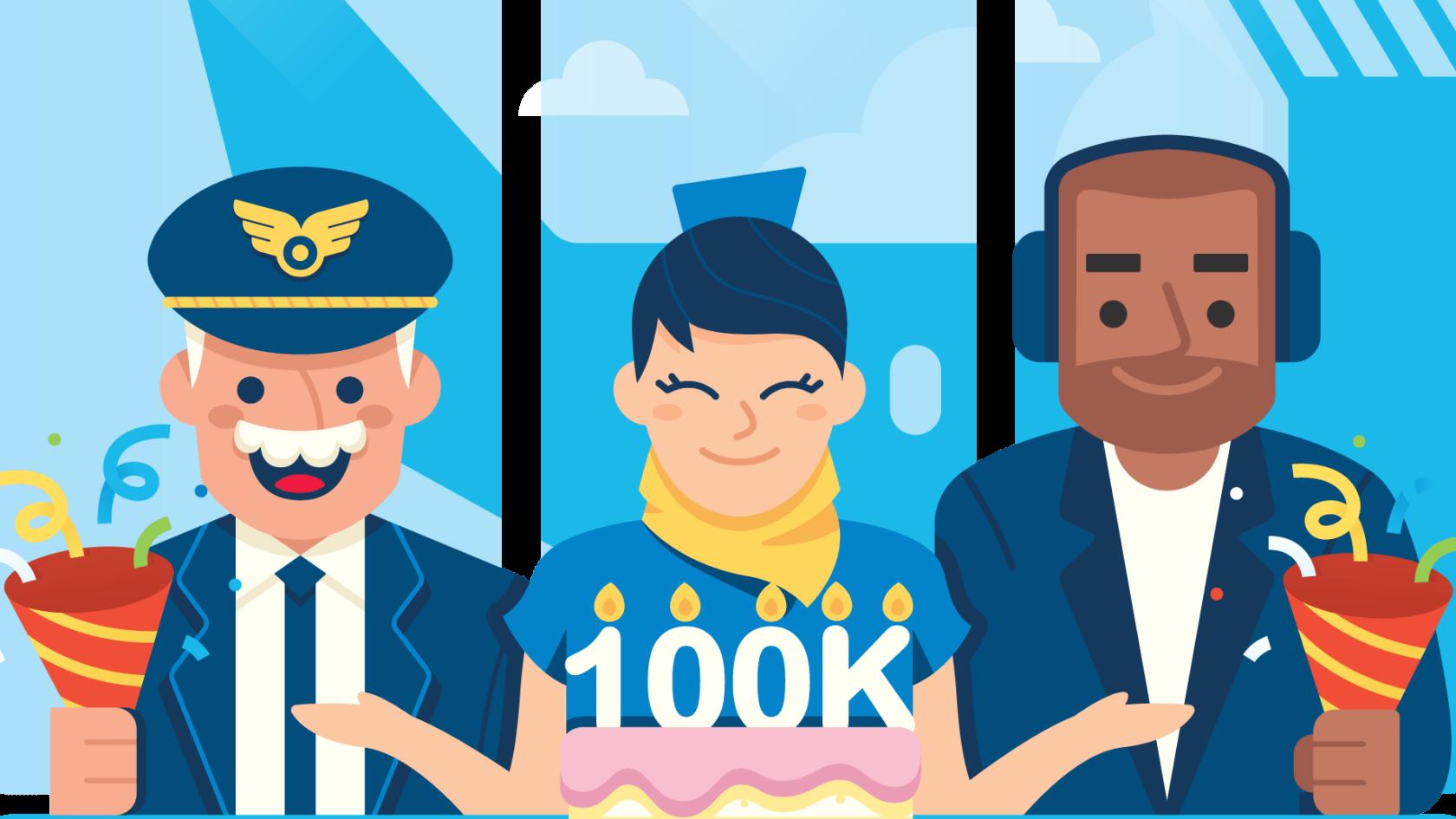 Celebrating 100k members