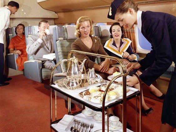 Flying in 1950s
