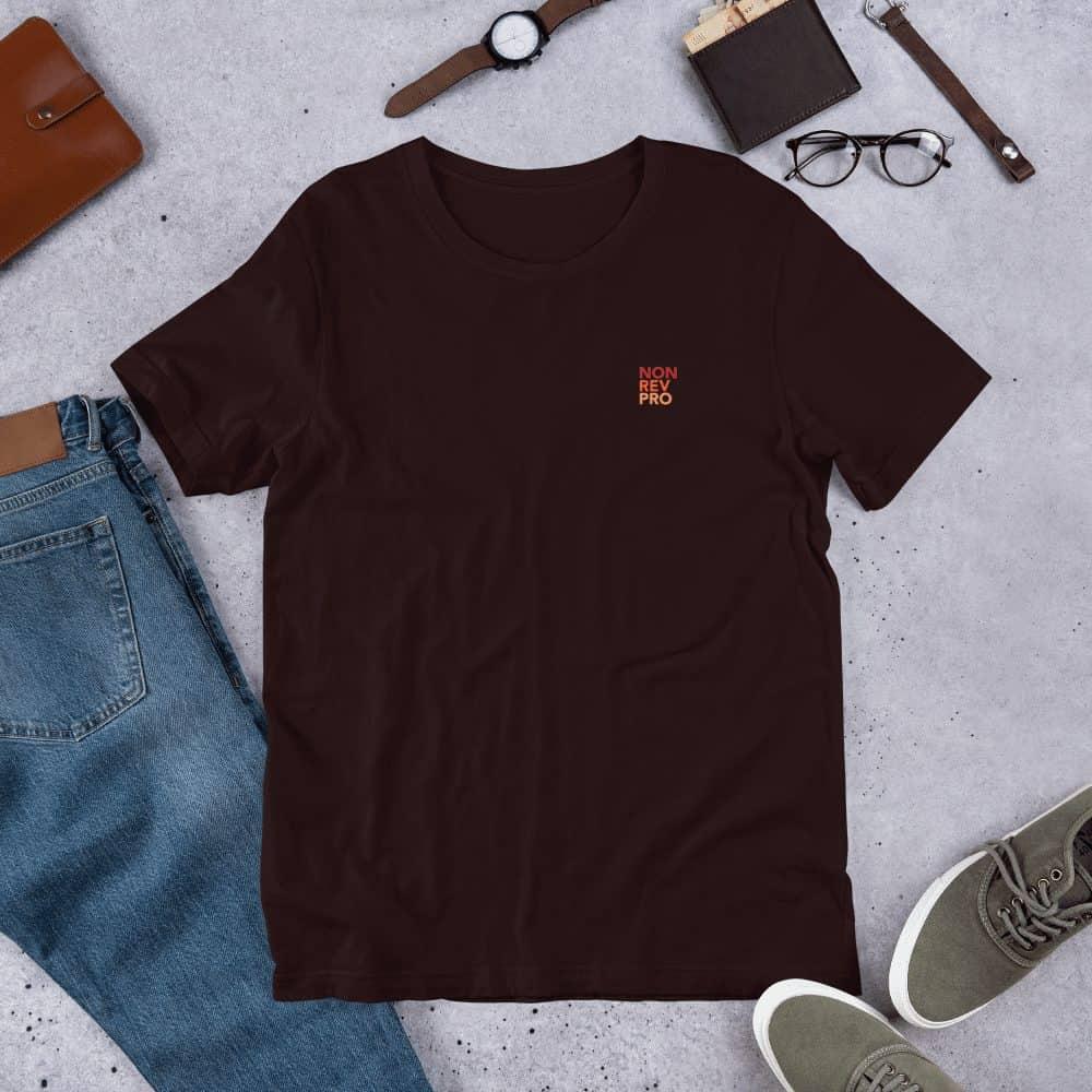 Non rev pro T-shirt Oxblood black