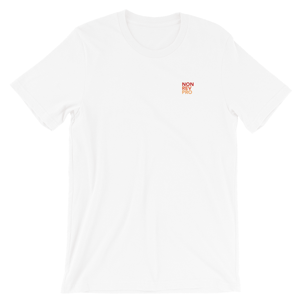 Non rev pro T-shirt White
