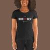 I love non-rev slim-fit T-shirt woman grey