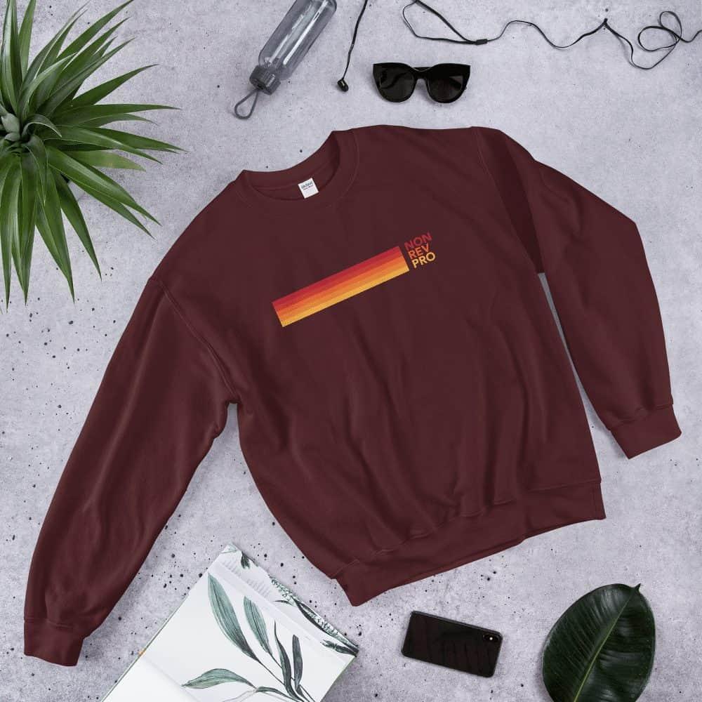 Retro non-rev sweater red